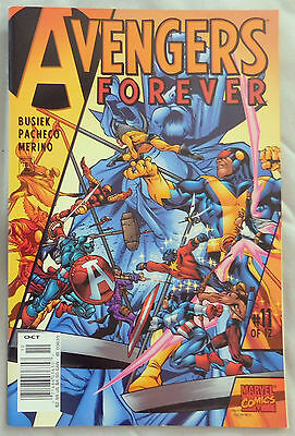 Avengers Forever #4A March 1999 Marvel NM 9.2
