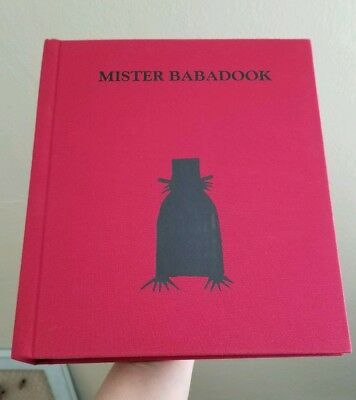 "The Babadook Book First Edition Signed By Author Jennifer Kent ""Mister Babadook"""