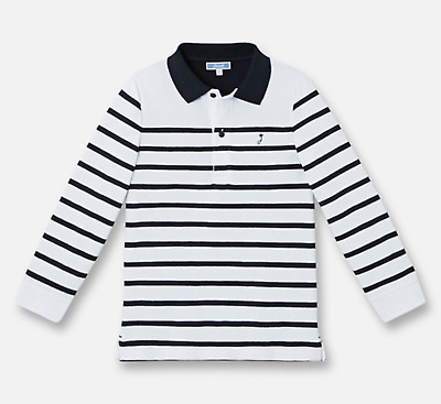 Boys french designer JACADI polo shirt top size 4 6 8 10 12 years (RRP $66)