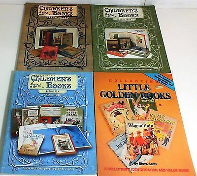 4 Collector's Identification & Value Guides To Children's Books  Little Golden
