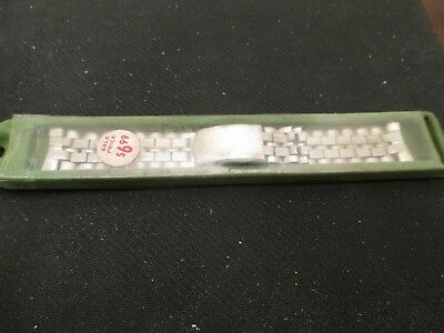 Seiko New Old Stock ca 1960's Stainless Steel Watch band Link/Bracelet