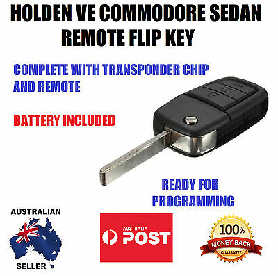 Holden Commodore Ve Hsv Omega Ssv Sv6 Remote Key With Transponder 2006-2013