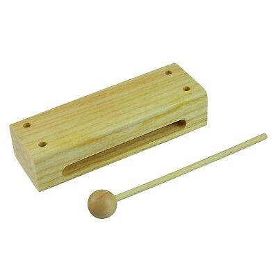 NEW Drumfire Double Ended Tone Block Hand Percussion Kids Music Toy