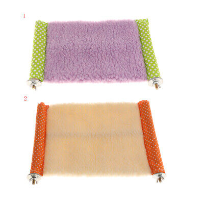 Soft Hammock Pet Caged Bed for Cat Hamster Squirrel Rat Chinchilla Random Color