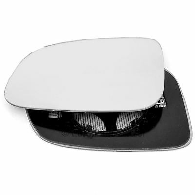 Driver side Clip Heated Wide Angle wing mirror glass for Volvo 850 91-97