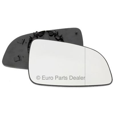 Driver side Clip Wide Angle wing mirror glass for Vauxhall Astra H 04-08
