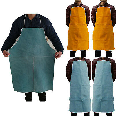 Welding Apron Welder Heat Insulation Cow Leather Protection Equipments Tool