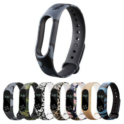 Xiaomi Mi Band 2 Smart Bracelet Replacement Silicone Watch Fitness tech Accs