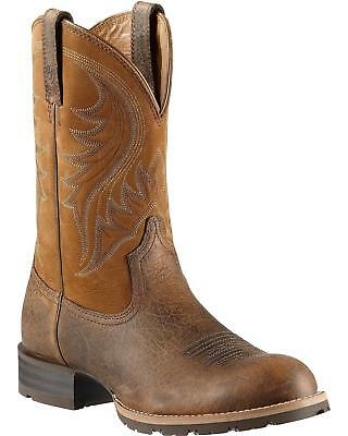 Ariat Hybrid Rancher Cowboy Boot - Round Toe Earth 10.5 D