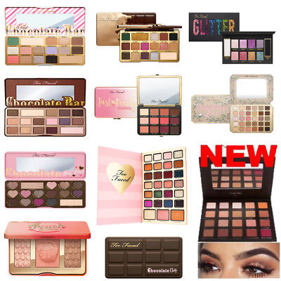 Makeup Eyeshadow Chocolate Sweet Peach Glitter Natural Jelly Palette NEW