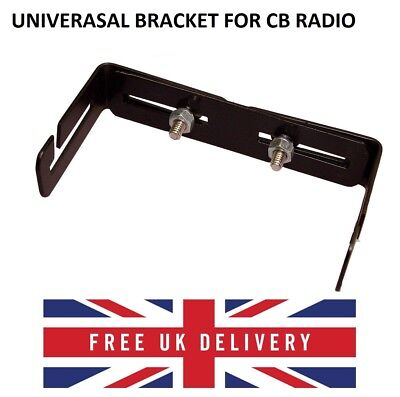 Universal Adjustable Radio Bracket Cb / Ham Radio