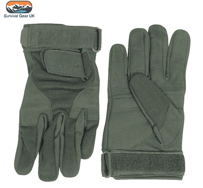 Viper Tactical Military Special Ops Gloves Mens Army Quick Dry Glove Green