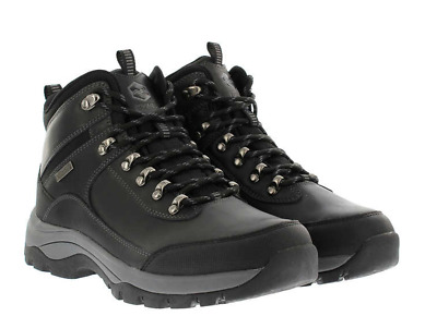 5a8c2ee7e2f KHOMBU MEN'S LEATHER Waterproof Summit Black Boots. Pick Your Size.