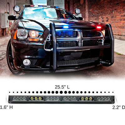 22 Led Red Car Truck Beacon Advisor Flash Warning Emergency Strobe Light Bar