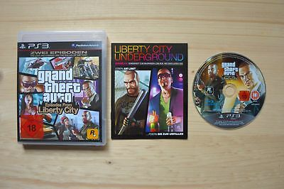 PS3 - Grand Theft Auto: Episodes from Liberty City - (OVP, mit Anleit.)