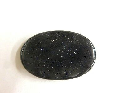 Sonnenstein blau Cabochon oval ca. 45x29 mm 67 ct. Nr. 3