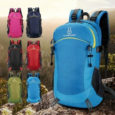 Waterproof Nylon Large Capacity Outdoor Mountaineering Backpack Shoulder  Bag SM 49296e7e55e0e