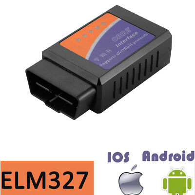 ELM327 WIFI OBD2 Car Diagnostic Scanner Scan Code Tool for Android iPhone MA1513