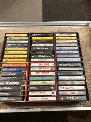 Large Lot of 48 MOSTLY  Country cassettes~FREE CASSETTE HOLDERS- LOOK!!!!- 71