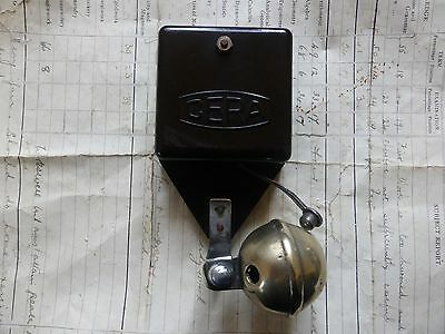Unusual Cera BT Bakelite & Brass Electric Sleigh Doorbell - 3-6v (vintage retro)