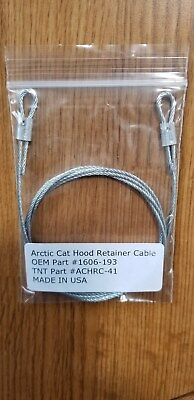 Arctic Cat Snowmobile Hood Cable Zr Zl 500 600 700 New 1606-193