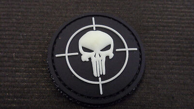 Patch Pvc 3D Punisher Fluo   Opex