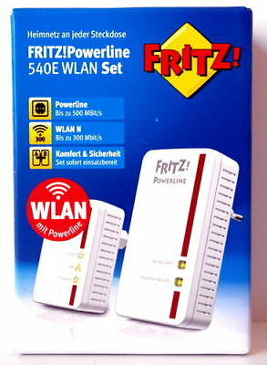 AVM FRITZ!Powerline 540E / 510E WLAN Set