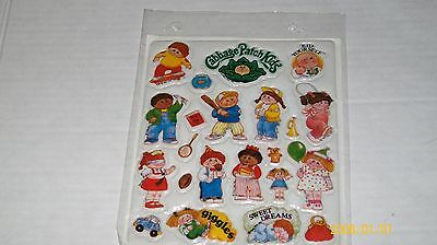 CABBAGE PATCH puffy stickers. 0003