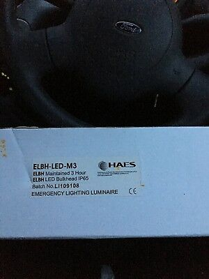 4W LED Maintained / Non Maintained IP65 Emergency Safety Bulkhead Light