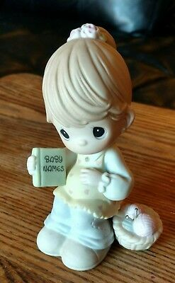 """Precious Moments """"You're Due For A Lifetime Of Happiness"""" Figurine"""