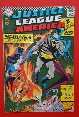 Justice League of America #51  Zatanna! Atom! Batman! Hawkman!