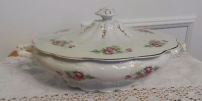 Vintage Taylor Smith & Taylor Covered Vegetable Dish