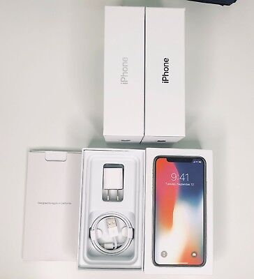 Iphone X Retail Empty Box W/ Charger Accessories - Space Gray | Silver