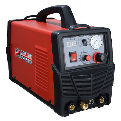 CTS-160 30 Amp Plasma Cutter, 160A TIG, 140A Stick Welder 3-in-1 Multifunction