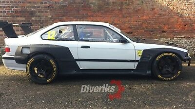 Bmw E36 Coupe Rocket Bunny Pandem Wide Body Kit Replica Mtech M3
