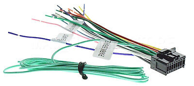 Pioneer Iso Wiring Harness Fit Deh X3750ui Deh X4750bt Deh