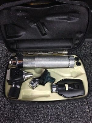 Vintage WA Medical Otoscope With Case
