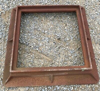 LIQUIDATION  Neenah Square Inlet Frame  #7973