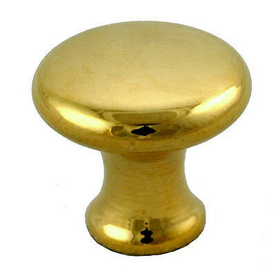 Globe Wernicke® Bookcase Polished Door Knobs (Pair). 99% Perfect Dimensionally!!