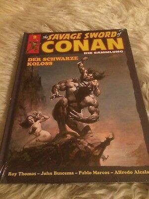 Savage sword of Conan -die Sammlung Hardcover Testausgabe  Band 2