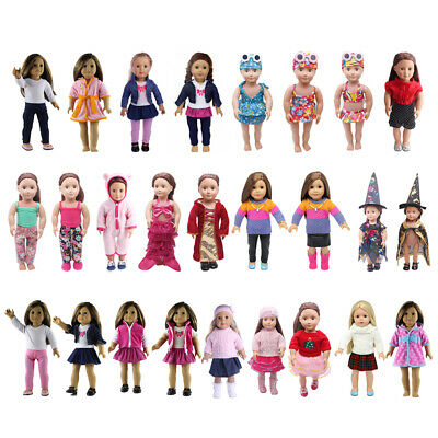 Doll Clothes Dress Outfit Pajames For 18 inch Doll Generation Doll