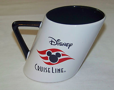 DISNEY: 12oz Mug - CRUISE LINE Slanted Smoke Stack shape