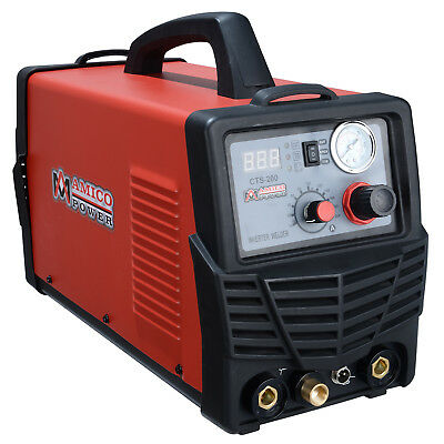 CTS-200 50 Amp Plasma Cutter 200A TIG/Stick/Arc Welder 3-in-1 Multifunction New