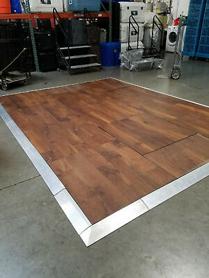 Dance floor, Portable, 15'x15' faux Cherrywood, with tools