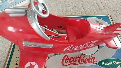 Coca-Cola Petal Plane Signed By Ken Kovach With Certificate Of Authenticity