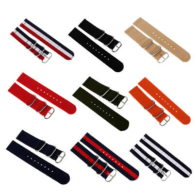 Quick Release Sport Nylon Watch Strap Band 18/20/22mm For Samsung Gear S2 S3