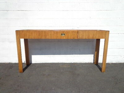 Console Sofa Table Tv Stand Drexel Campaign Sideboard Entry