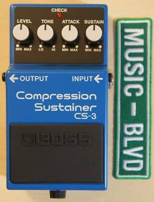 Brand New Boss CS-3 CS3 Compressor Compression Sustainer Pedal