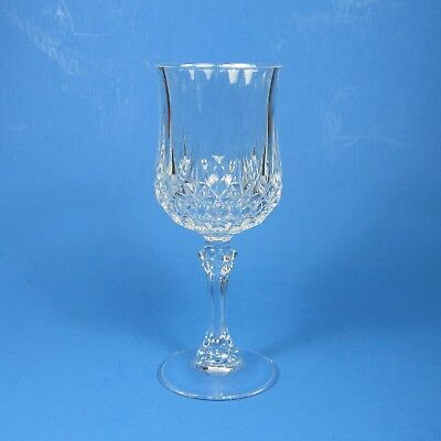 """Cristal d'Arques LONGCHAMP 6.5"""" Wine Glass (s) Crystal Clear"""