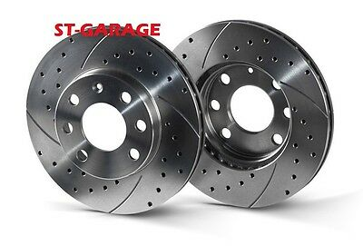 ALFA ROMEO GT (937) Front Brake Discs SLOTTED/PERFORATED 284 mm